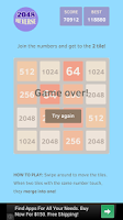 Screenshot of 2048 Reverse