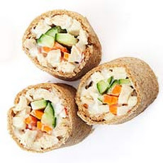 Chicken Salad Sushi Rolls
