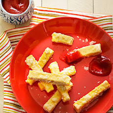 Tofu Fries with Gingered Ketchup