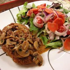 Jägerschnitzel (Pork or Veal Cutlets in  Mushroom Gravy)