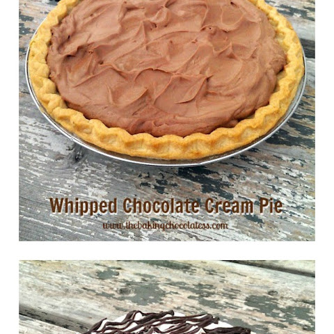 Whipped Chocolate Cream Pie {Bringin' Sexy Back!}