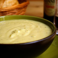 St. Patrick's Day Potato Soup With Pesto