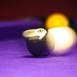 Pot The Black? by Si Dimmock - Sports & Fitness Cue sports ( rileys, pool, movement, black ball, shot, snooker )
