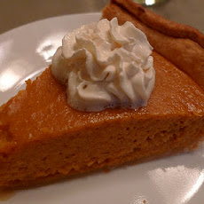 Vegan Chai Pumpkin Pie