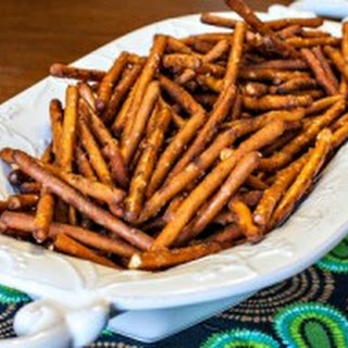 Spicy Buffalo Pretzels