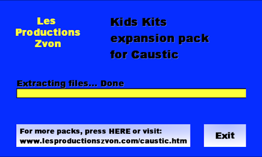 Kids Kits for Caustic 2 - screenshot