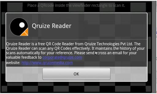 Qruize QR Reader