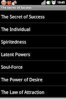 Screenshot of The Secret Of Success