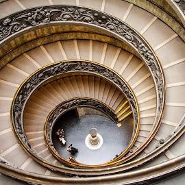 Museu do Vaticano by João Saraiva - Buildings & Architecture Public & Historical ( museu, roma, escadas, vaticano, itália )