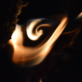The light within by Brian  Boyle - Abstract Fire & Fireworks ( light within, photograph, swirl, brian boyle, spiral, fire, photography, flame, wilderness, photographer, night, bb, campfire, yukonbrianboyle )