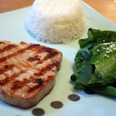 Honey Lime Tuna Steaks