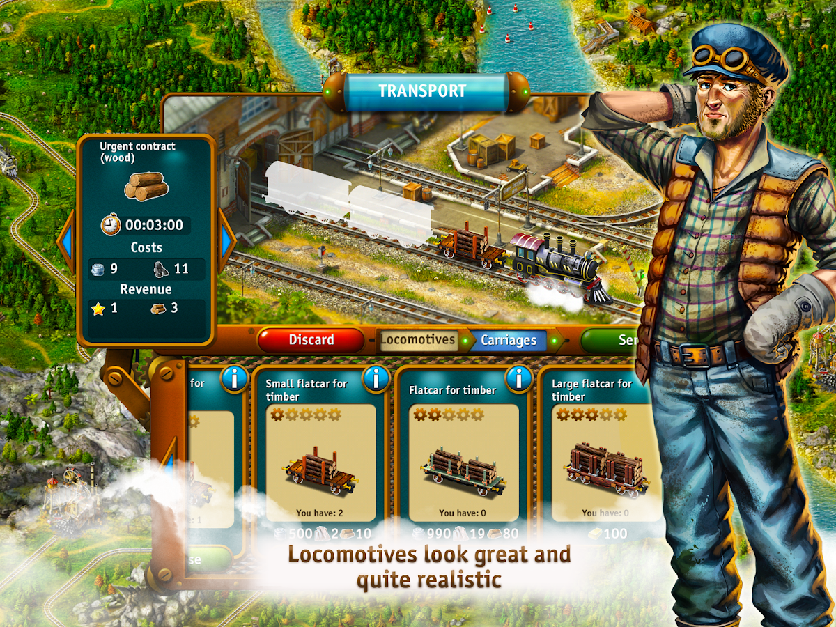 Transport Empire: Steam Tycoon Screenshot 2