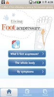 Screenshot of Foot massage Acupressure