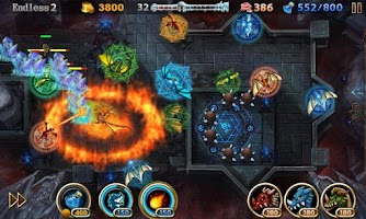 Screenshot of Lair Defense: Shrine