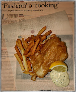 Homemade fish and chips – Nordic style