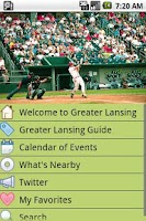 Screenshot of Greater Lansing
