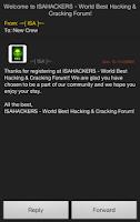 Screenshot of ISA™ Hacking Crew