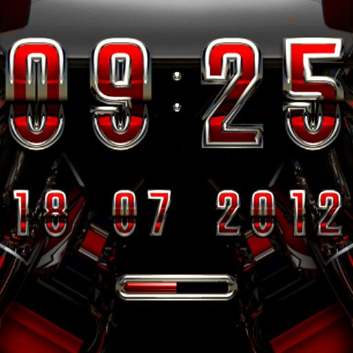 MAGNOLIA Digital Clock Widget