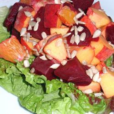 Beet, Orange and Apple Salad
