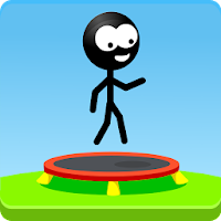 Trampoline Man (Stickman Game) For PC (Windows And Mac)