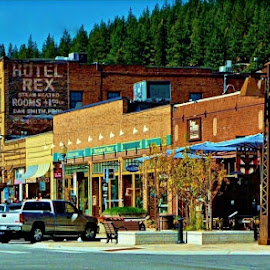 Downtown Truckee by Samantha Linn - City,  Street & Park  Historic Districts