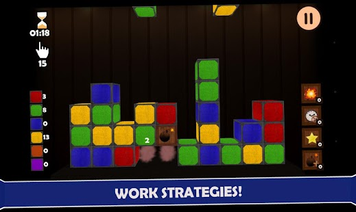 Match Cube - Pop The Cubes - screenshot