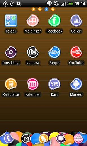 Sticker Go Launcher EX Theme