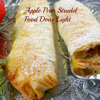Apple Pear Strudel
