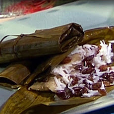 Sweet Raisin and Coconut Tamales