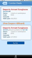 Screenshot of DealPiazza - Coupons giftcards