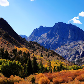 From June Lake Loop by Dale Andrews - Novices Only Landscapes ( mountains, fall )