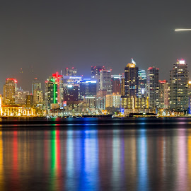 San Diego by Scott Padgett - City,  Street & Park  Skylines (  )