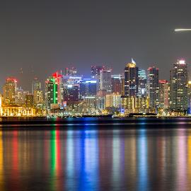San Diego by Scott Padgett - City,  Street & Park  Skylines