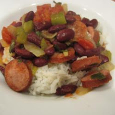 Kielbasa With Kidney Beans