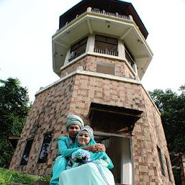 by Wan Azizul Azar Aziz - Wedding Bride & Groom