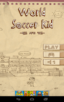 Screenshot of WORLD SOCCER KID