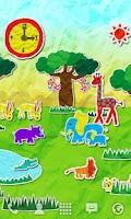 Screenshot of paper safari LWallpaper Free