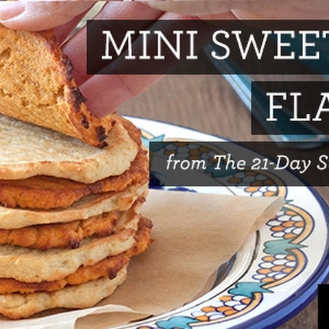Mini Sweet Potato Flatbreads