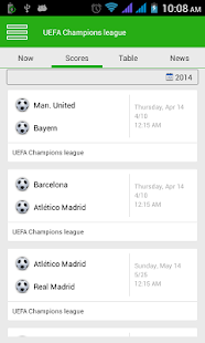 Football LiveScore - screenshot