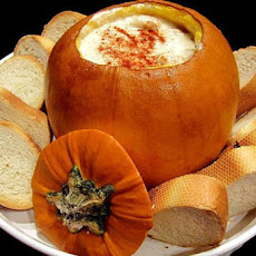 Roast Pumpkin with Cheese