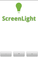 Screenshot of ScreenLight Flashlight/Strobe