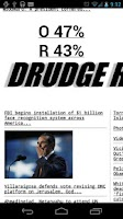 Screenshot of Drudge Report