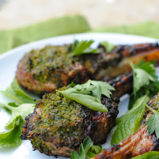 Herb-Crusted Grilled Lamb Chops
