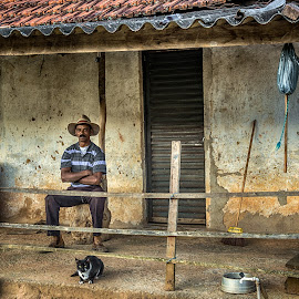 Homem do Campo by Marcos Lamas - People Portraits of Men