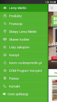 Screenshot of Leroy Merlin Polska