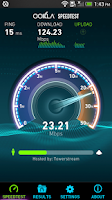 Screenshot of Speedtest.net