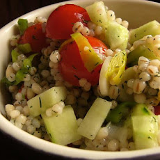 Vegetable Barley Salad