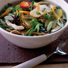 Spiced Chicken Noodle Soup