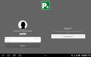Screenshot of P+ Teacher