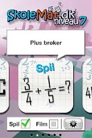Screenshot of SkoleMat Level 7 gratis
